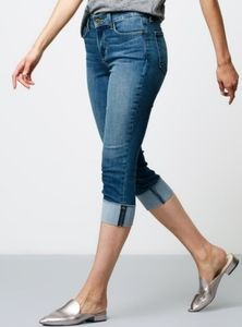 2 for $40 NYDJ CUFFED CAPRI WITH LIFT TUCK TECHNOLOGY PETITE
